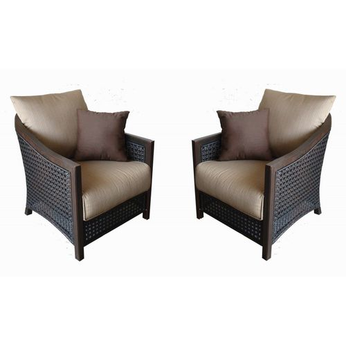 Allen And Roth Outdoor Furniture | Allen + Roth Set Of 2 Cranston Patio  Chairs