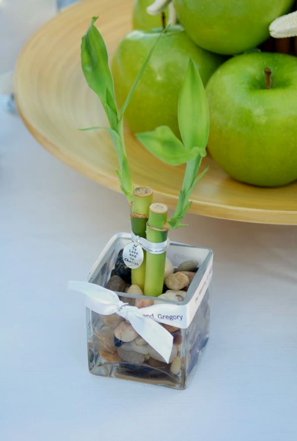Bamboo Wedding Party Favors The Art of Weddings Fashion DIY