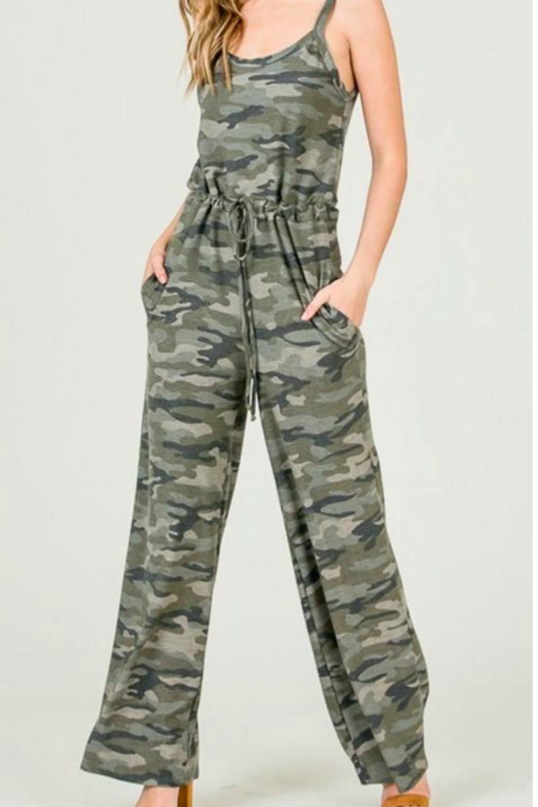 660528eb 7th Ray Camouflage Jumpsuit in 2019 | CHAMBRAY TENCEL GROUP ...