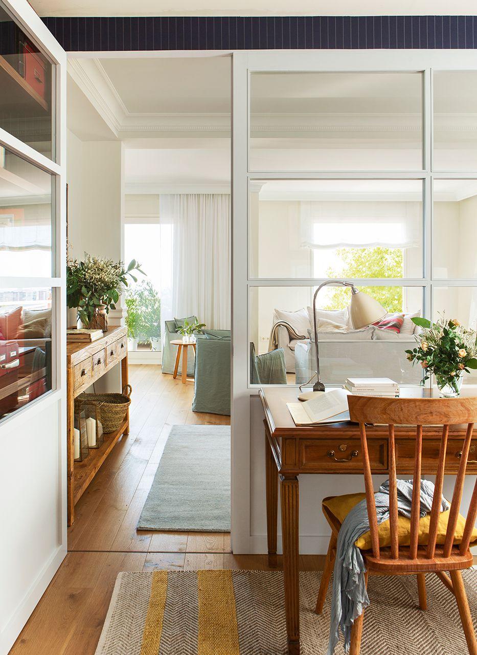 Reformar dos pisos antiguos y convertirlos en uno moderno for Reformar puertas
