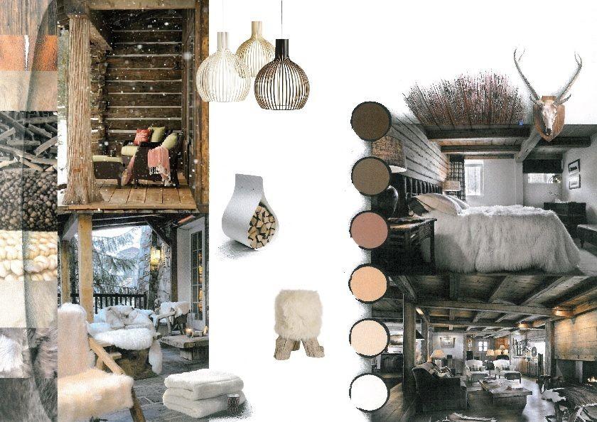 pingl par archimix sur h tels montagne pinterest chic. Black Bedroom Furniture Sets. Home Design Ideas