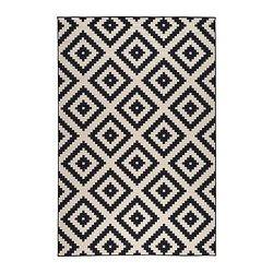 lappljung ruta teppich kurzflor wei schwarz pinterest teppich g nstig teppiche und ikea. Black Bedroom Furniture Sets. Home Design Ideas