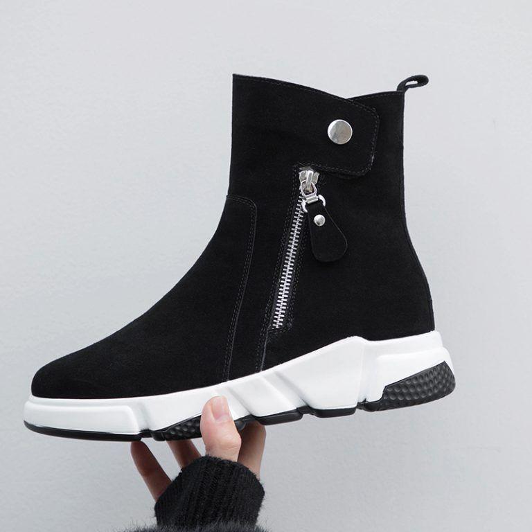 Chiko Earnest Zipper Sneaker Ankle Boots