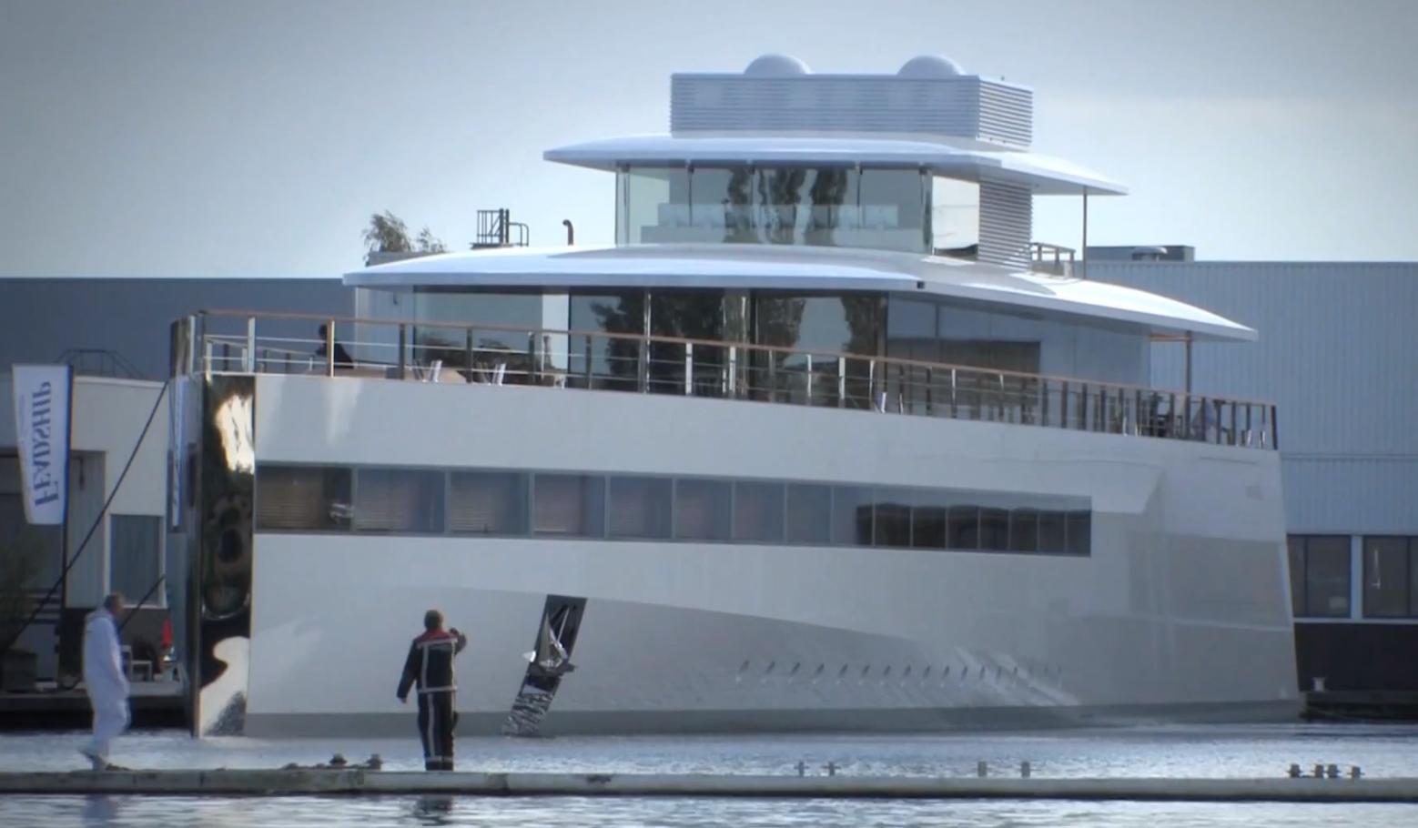 Late Apple CEO Steve Jobs\' Yacht \'Venus\' Launches   Art I Love ...
