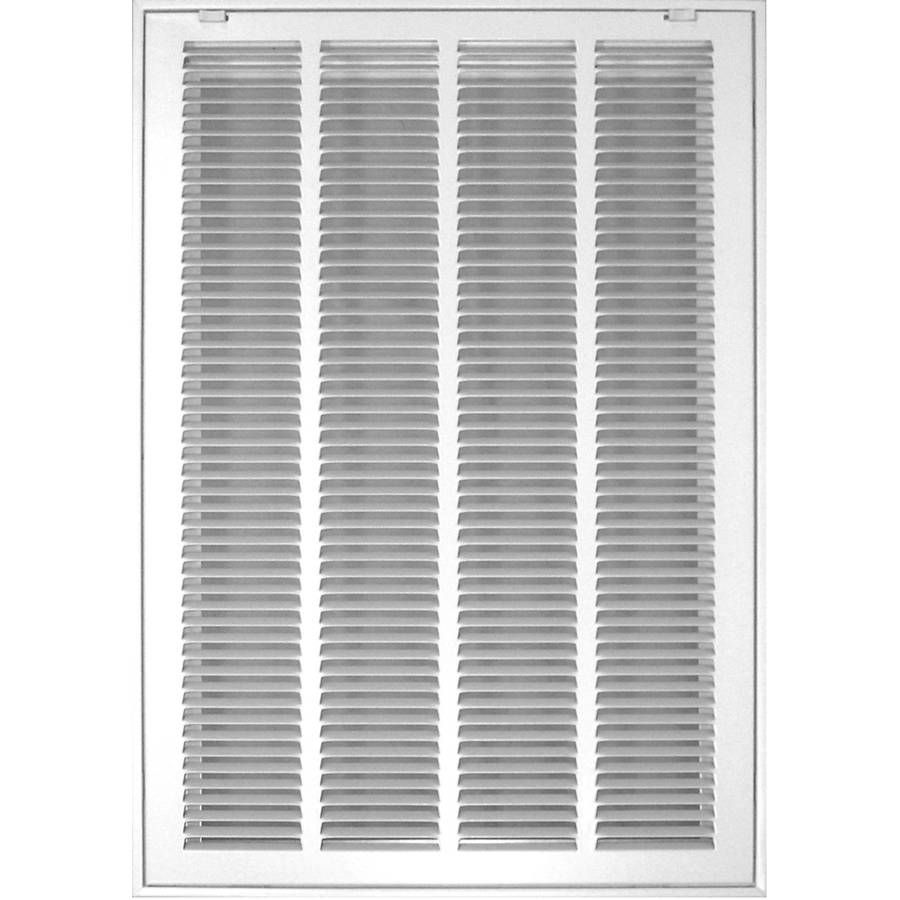 Shop Accord Filter White Steel Louvered Sidewall/Ceiling