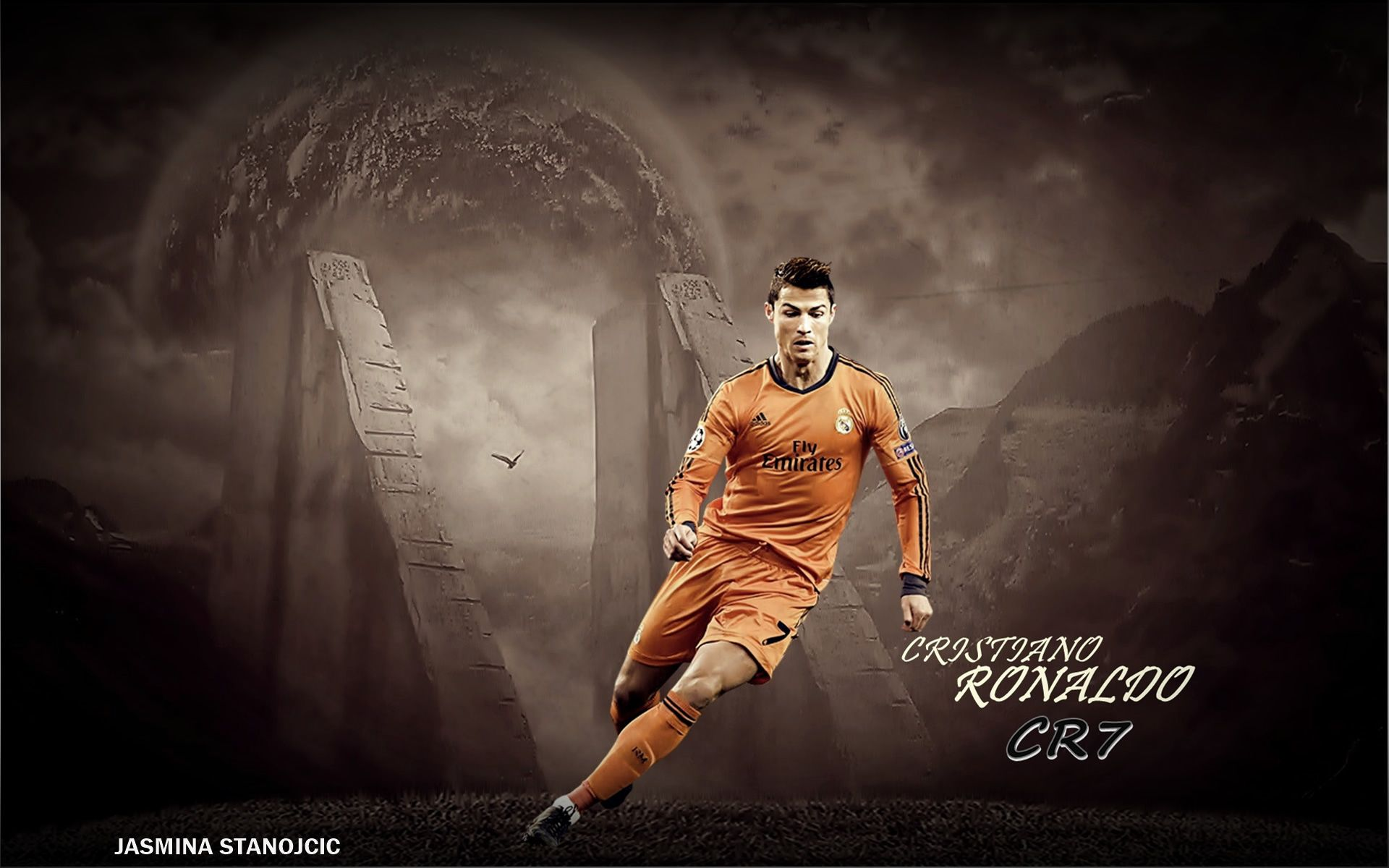 Hd wallpaper ronaldo - Cristiano Ronaldo Real Madrid Hd Desktop Wallpaper 1024 576 Images Of Cristiano Ronaldo Wallpapers