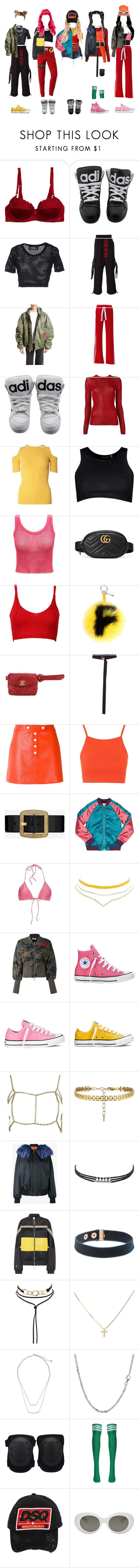 """""""✨ BLING BLING  ✨"""" by xxeucliffexx ❤ liked on Polyvore featuring STELLA McCARTNEY, Jeremy Scott, Hood by Air, Vetements, DKNY, Dorothy Perkins, Boohoo, Gucci, WithChic and Fendi"""