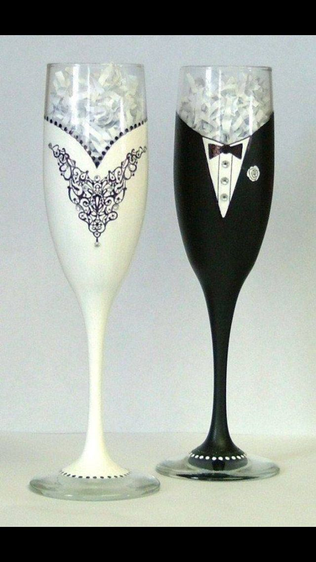 Something Like This For The Grooms Glass