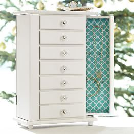 Chelsea Jewelry Armoire With Images Custom Jewelry Box