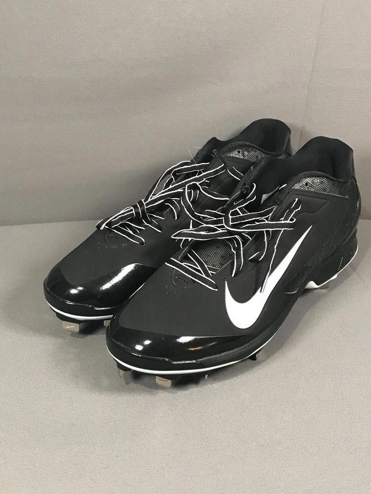 pretty nice 46eb1 43c8b Nike Huarache Pro Low Men s Baseball Cleats, Black White 599233-001, Size  12   eBay  baseballcleats