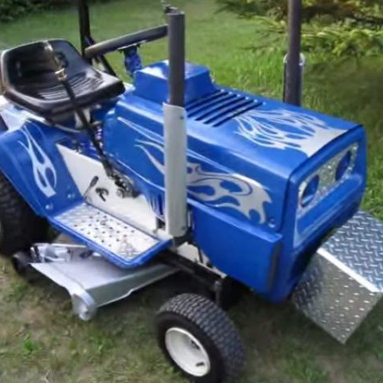 12 Tricked Out Lawn Mowers You Need To See Mower Riding Lawn Mower Attachments Lawn
