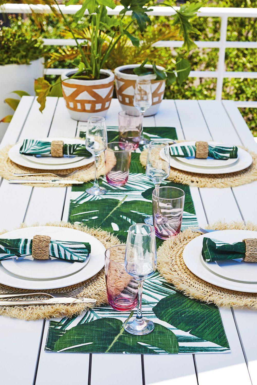 Mimosa Coral Bay Slat Aluminium Table in 2020 Aluminum