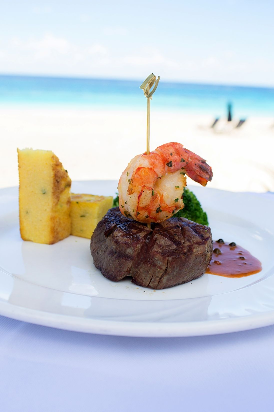 Surf And Turf Dinner Party Ideas Part - 17: Surf And Turf From Mickeyu0027s!