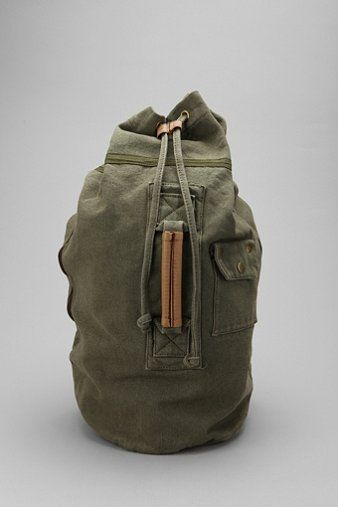 c0f415a1a Canvas Duffle Backpack | F A S H I O N | Backpacks, Goodie bags, Canvas