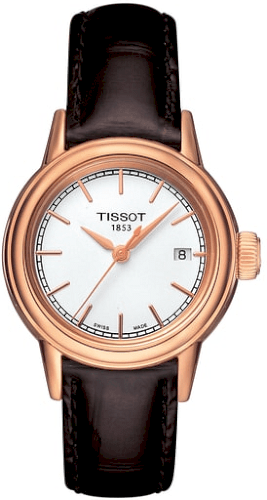 364a623ff614 Women s Tissot Carson Leather Strap Watch