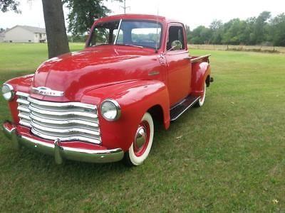 1950 chevrolet pickup stove bolt 6 cylinder truck old trucks for rh pinterest com