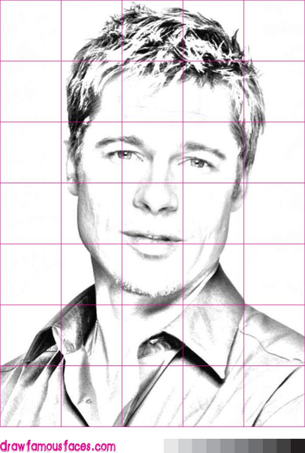 Grid Drawing Google Search Face Drawing Self Portrait Drawing Human Face Drawing