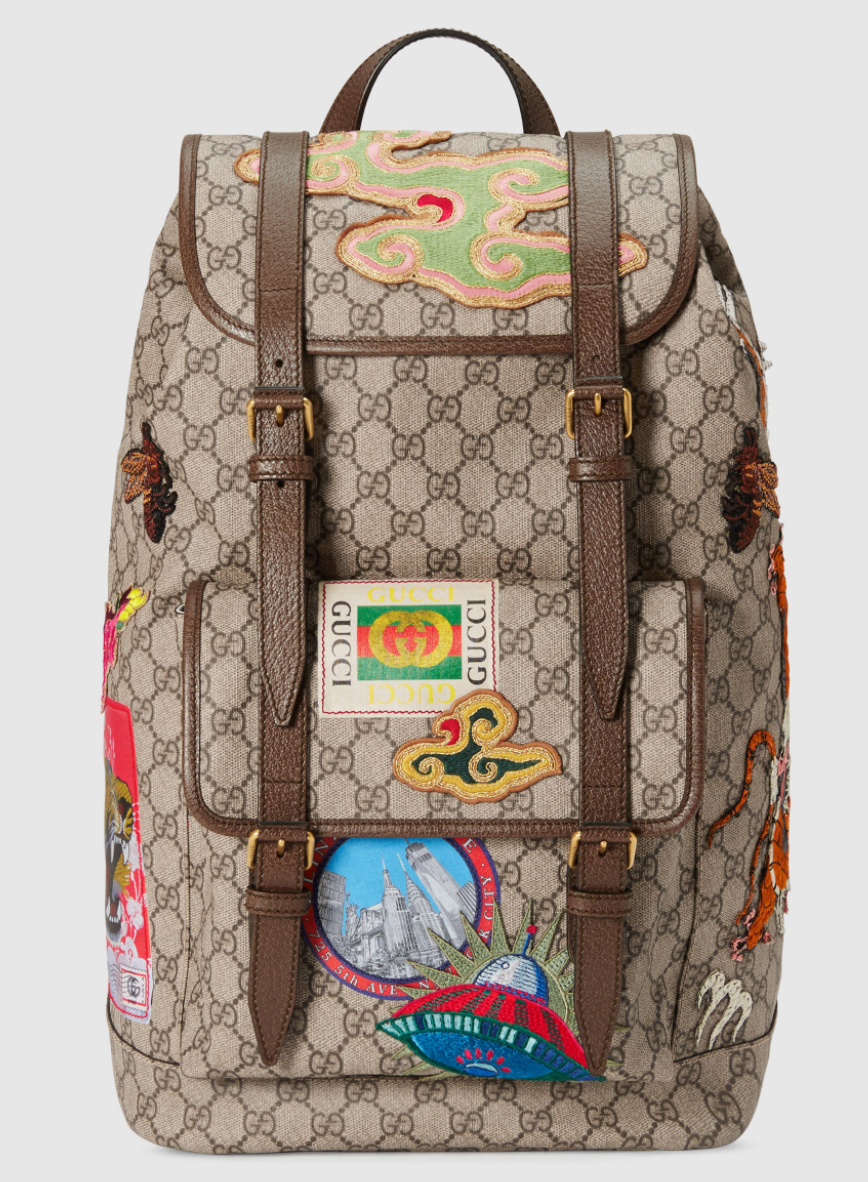 b93befa05071 Courrier soft GG Supreme backpack in 2019
