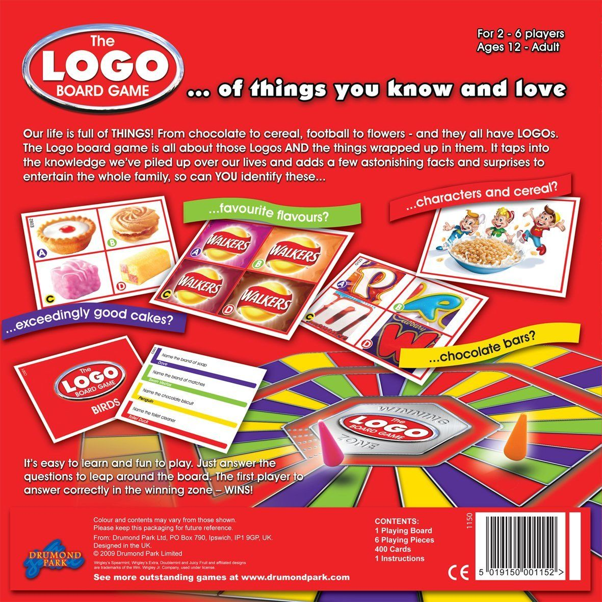 The Logo Board Game Amazon Co Uk Toys Games Family Board