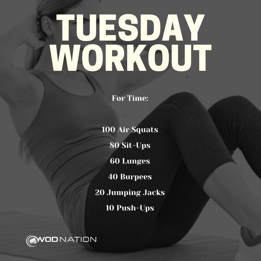 6 9 2020 Jas 18 36 7 28 2020 Jas 14 10 Kas 19 00 Tuesday Workout Gym Workout For Beginners Wod Workout