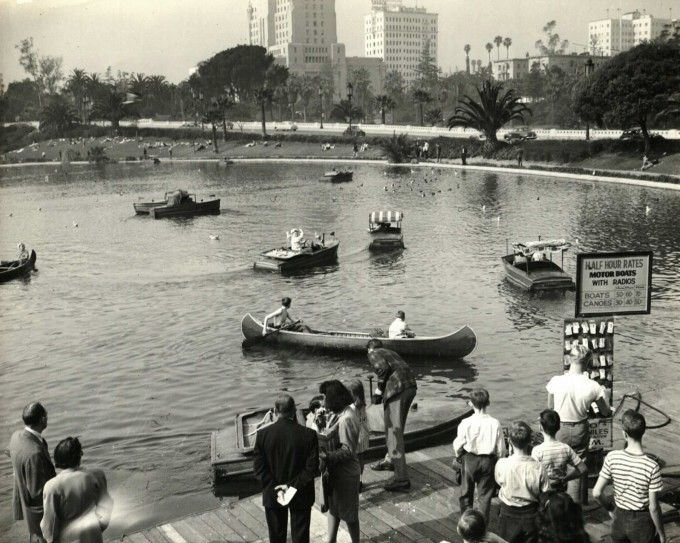 Oasis in the City. Mary Fitzpatrick talks about the changing face of Westlake Park (now known as MacArthur Park) and her families small business at the Boathouse. http://memoryboxstories.com/beta/oasis-in-the-city