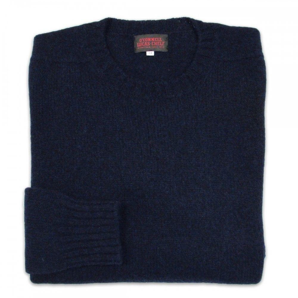 Classic shetland sweater - O'Connell's Scottish Shetland Wool ...
