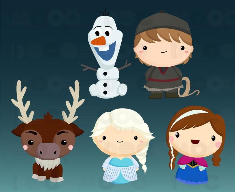 Ice Princess Clipart Kingdom Clip Art Cute Deer Free Svg Etsy Clip Art Princess Clipart Ice Princess