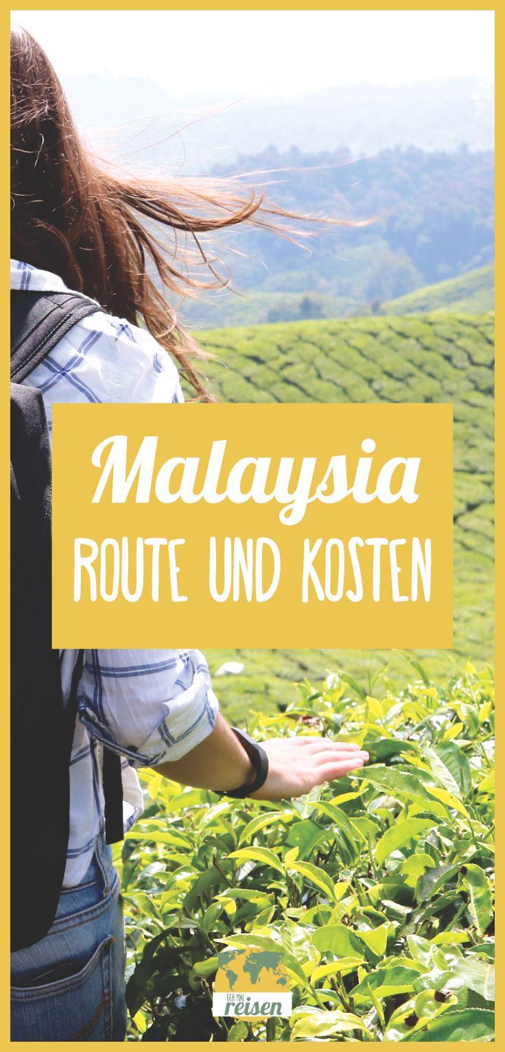 MALAYSIA ➸ Unsere Route und unsere Kosten der Reise