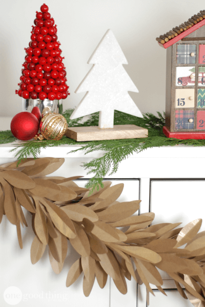 Kraft Paper Christmas Decor Paper Christmas Decorations Christmas Decorations Christmas Decor Diy