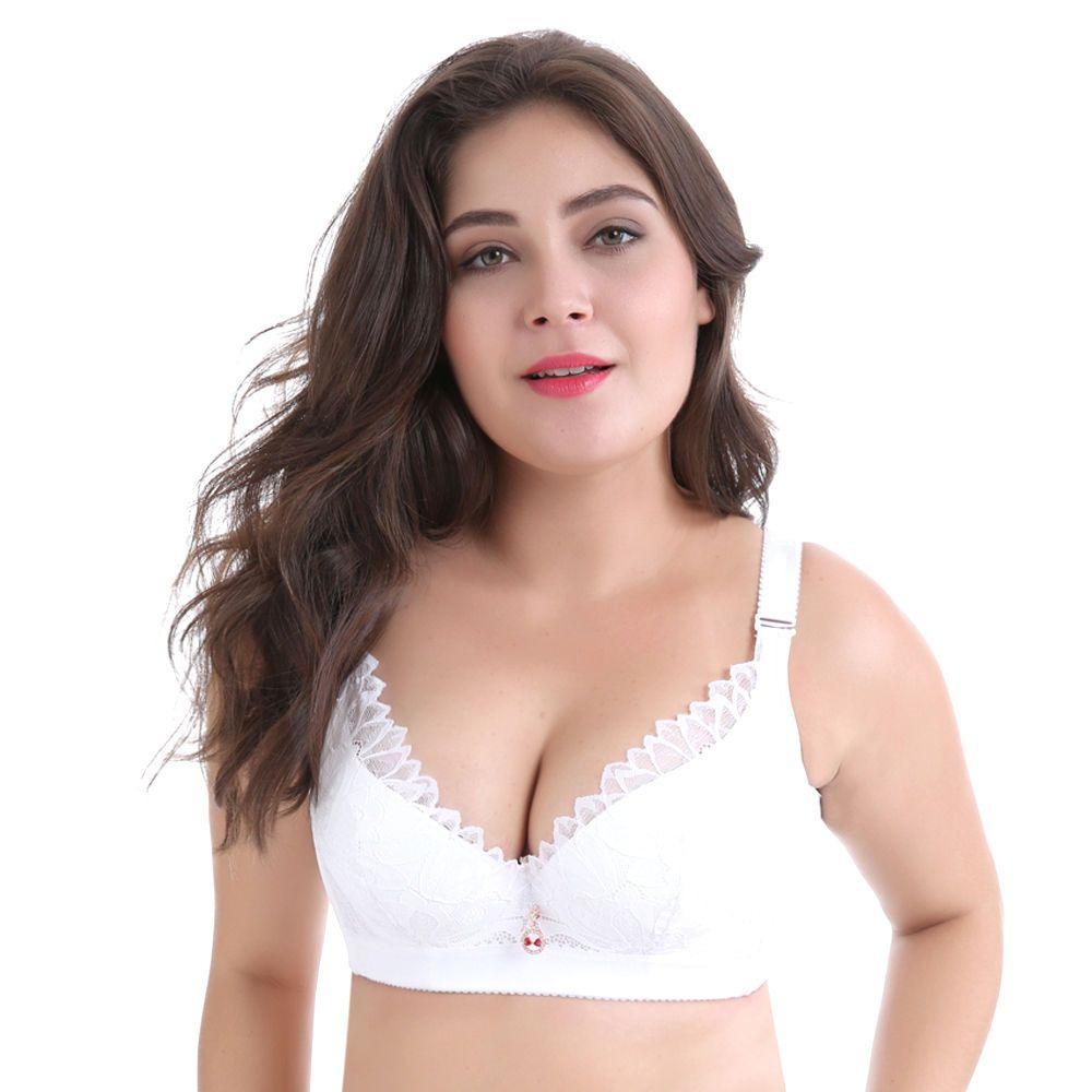 e7097b0ace7e8 Plus Size Bras D Dd Cup Push Up Brassiere Lace Underwire Women Bra