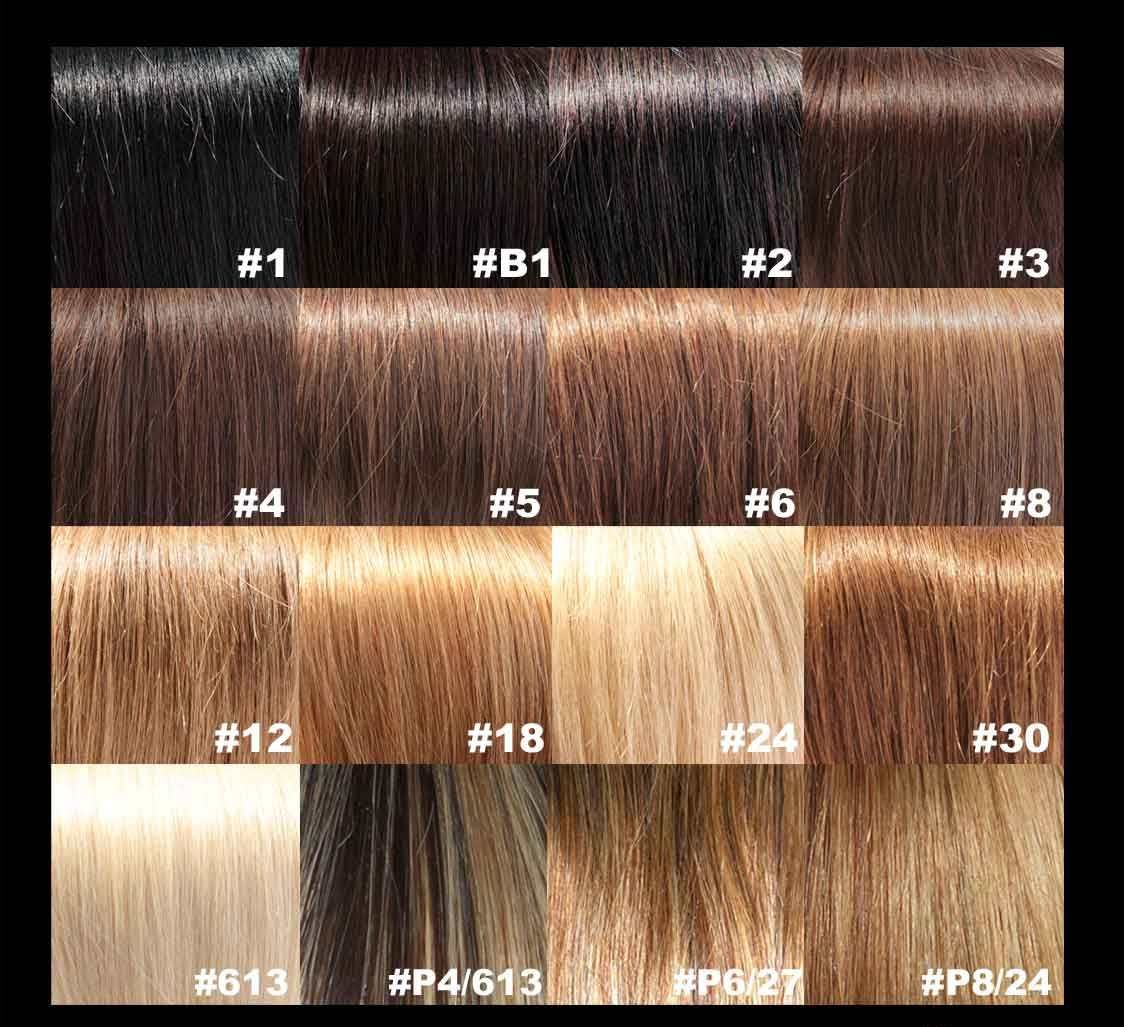 Brown Hair Color Chart Wella Anexa Beauty