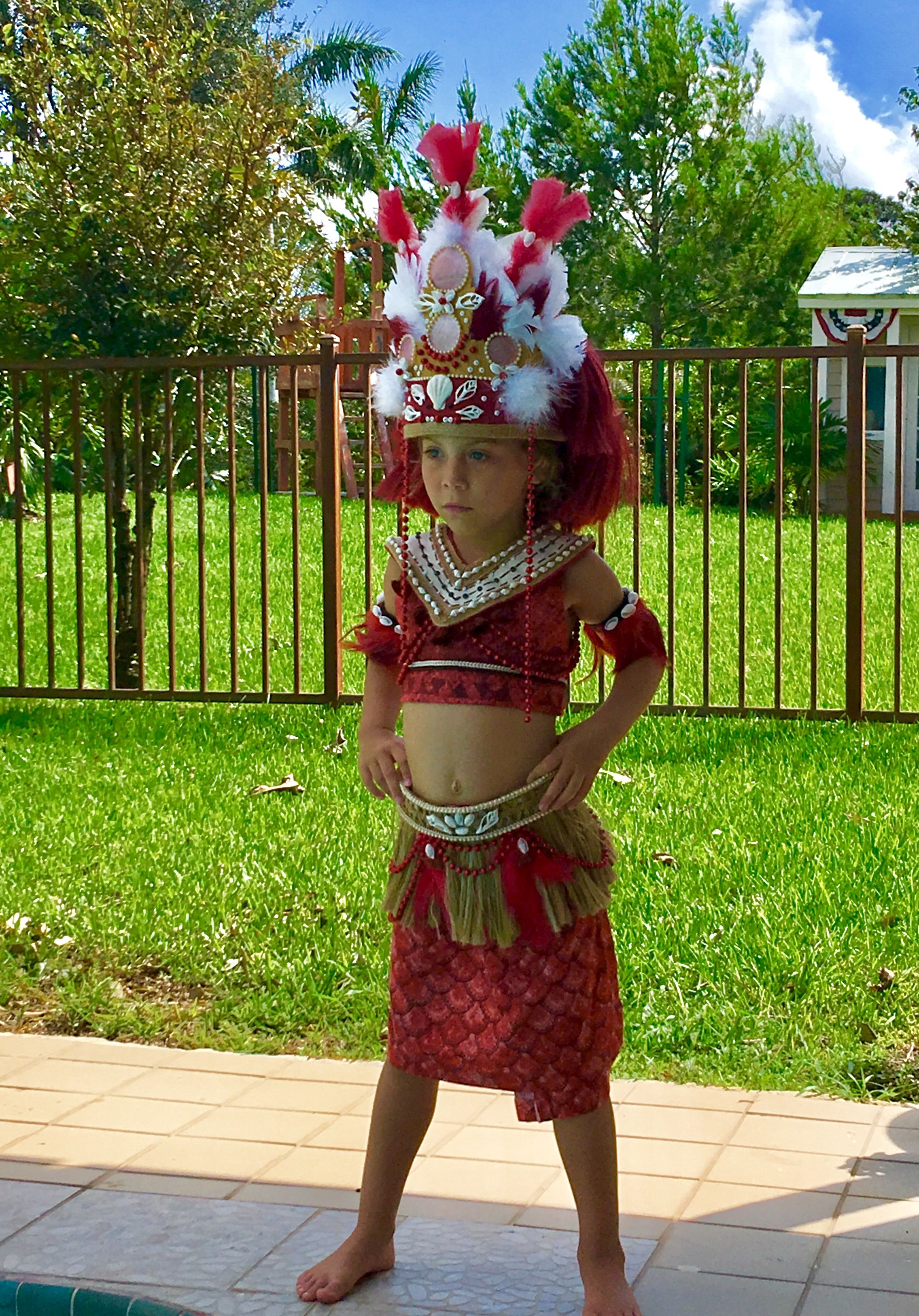 Moana ,Ceremony, Costume,Halloween, Handmade, Award Winning, Diy, Costume