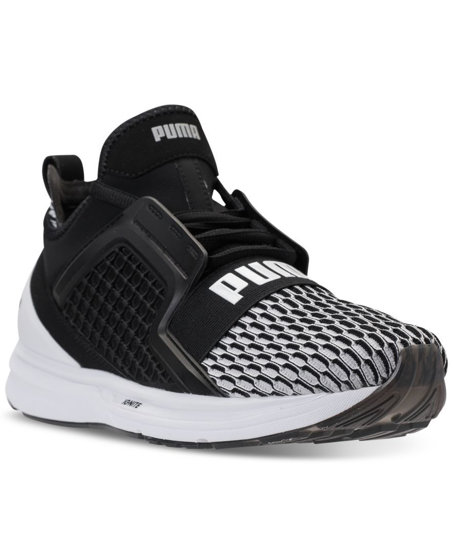 Puma Men s Ignite Limitless Colorblock Casual Sneakers from Finish Line e0ab3051a