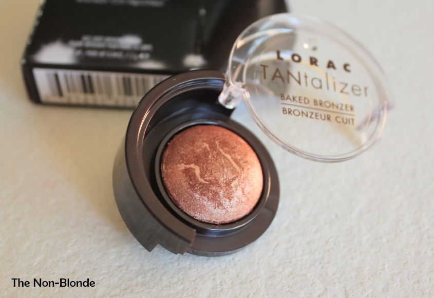 Get a summer glow with LORAC's TANtalizer Baked Bronzer in Bronze. Photo: @thenonblonde