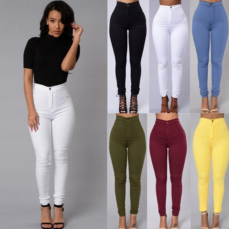 4fb9bfbcacaf Plus Size S-XXXL High Waist Leggings Elastic Women Black Leggings  Deportivas Mujer Femme Sexy