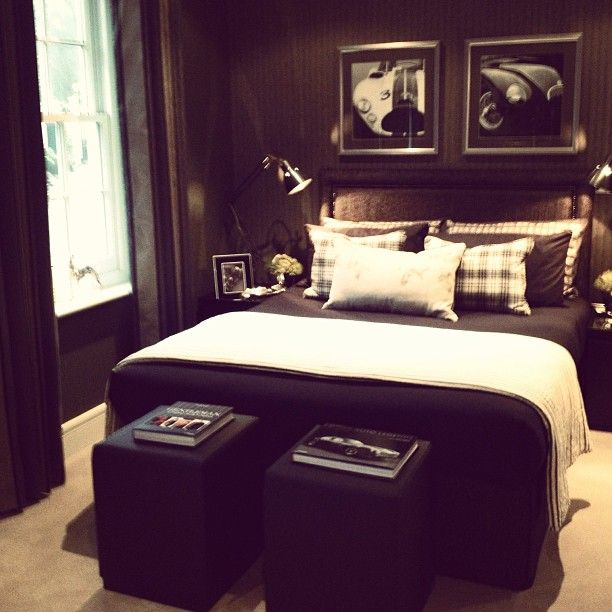 Masculine Ralph Lauren Inspired Bedroom Young Mans Bedroom Bedroom Design Single Man Bedroom