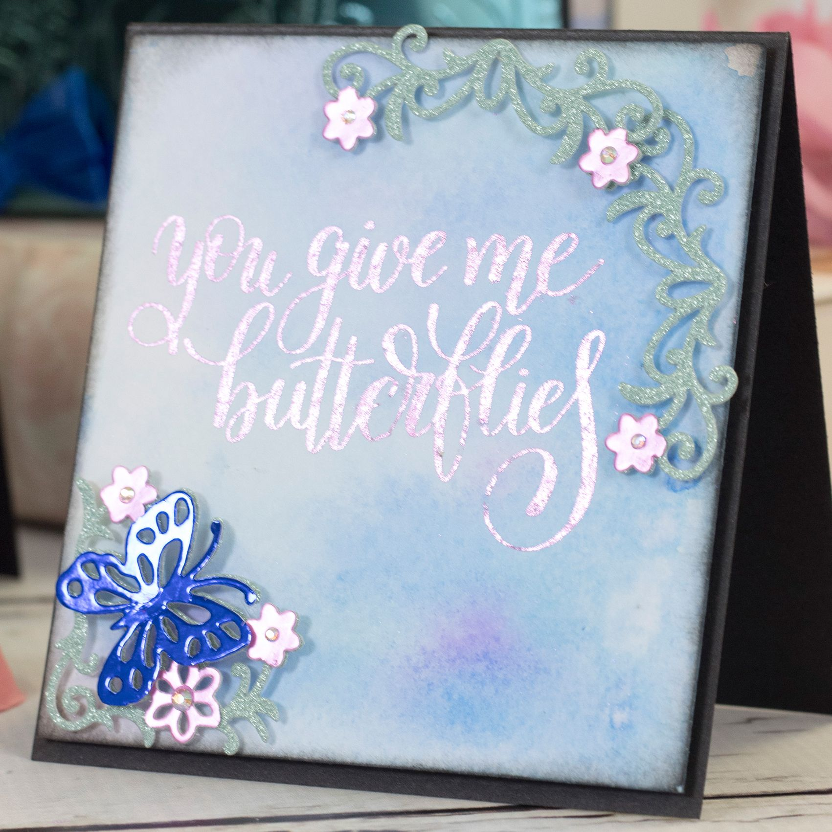 Card Making Inspiration Ideas Part - 37: Sara Signature- Flutterby #SaraDavies #papercrafting #Crafts #Hobbies #Arts  #Hochanda. Crafters CompanionCreative InspirationCardmakingHobbiesCard ...