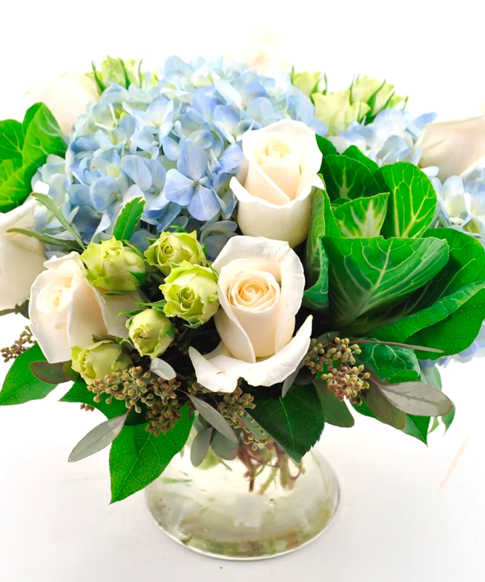 Blue Beauty Same Day Flower Delivery Flower Delivery Flowers