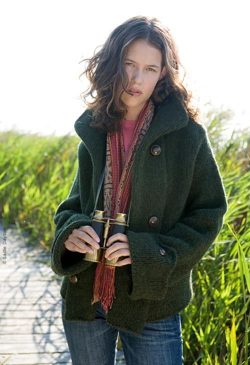 Heroine by Jennifer Lippman-Bruno Sturdy felted jacket for adventure ...
