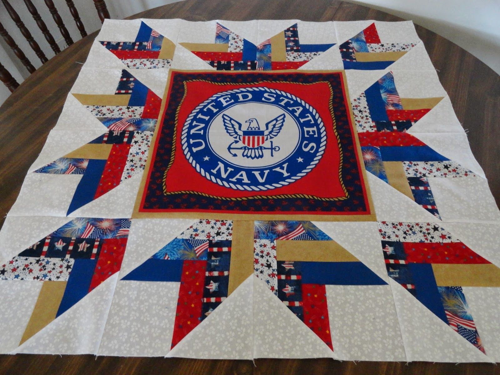 Several Have Asked How I Created The Recent Quilt Of Valor