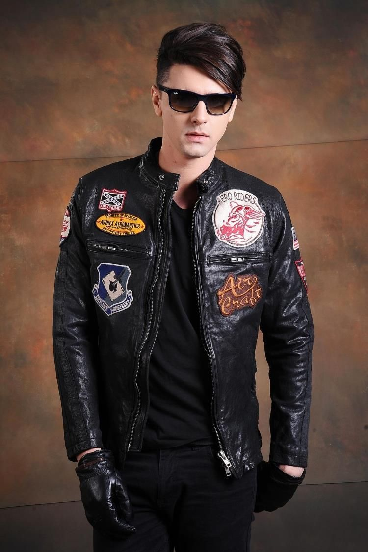 Aliexpress Com Buy Free Shipping Exported To Japan Hot Sale Men Leather Jacket Black 100 Genuine Leather Jacket Men Jackets Men Fashion Best Leather Jackets