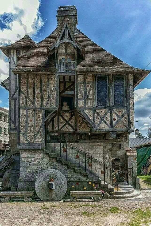 Beautiful medieval house in Argentan, Orne, France