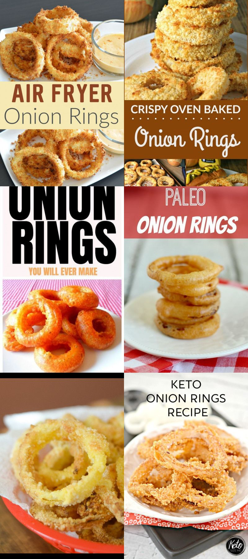 21 Recipes for onion rings #onionringsrecipe