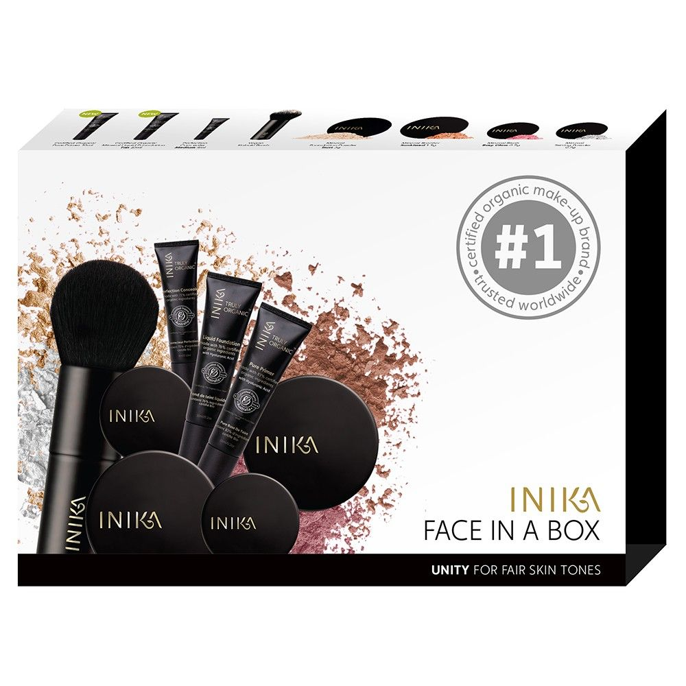Containing our signature products, Face in a Box is the