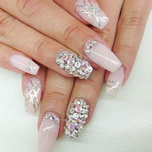 luxury nails makeup girly