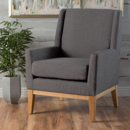 Home Upholstered Chairs Mid Century Modern Fabric Accent Chairs