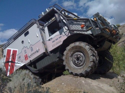 Off-Road RV Unimog | Unimog Expedition Camper For Sale