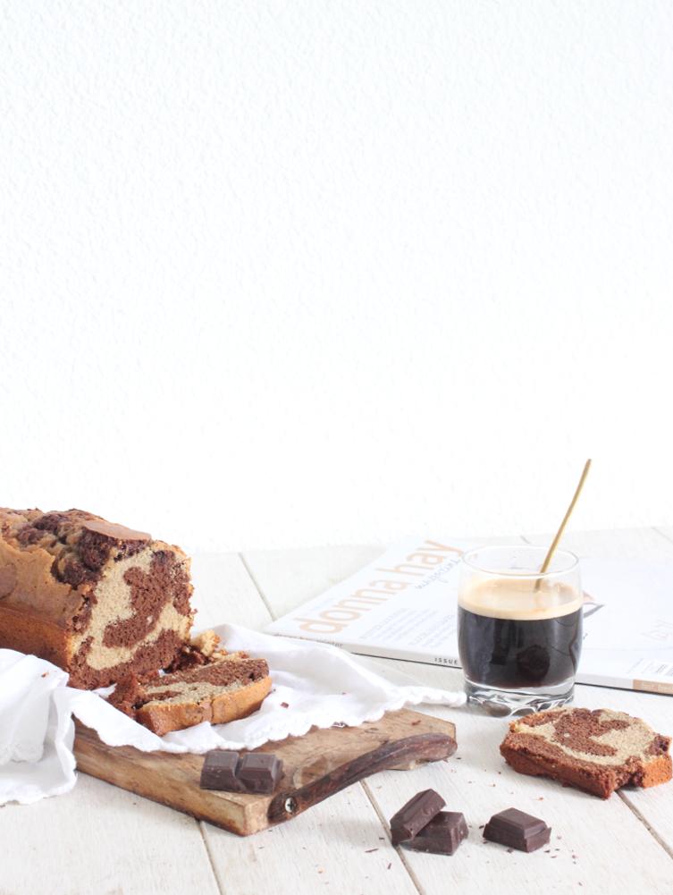 chocOlate & coffee marble cake (lactose free)