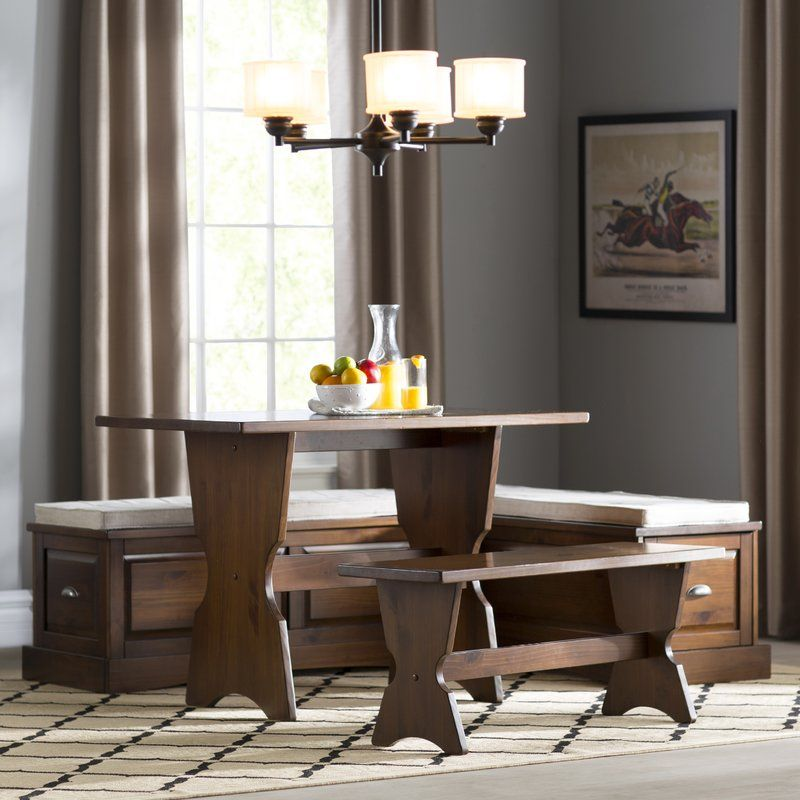 Dearborn 3 Piece Nook Dining Set Https://www.dealepic.com/deal/dearborn 3  Piece Nook Dining Set/