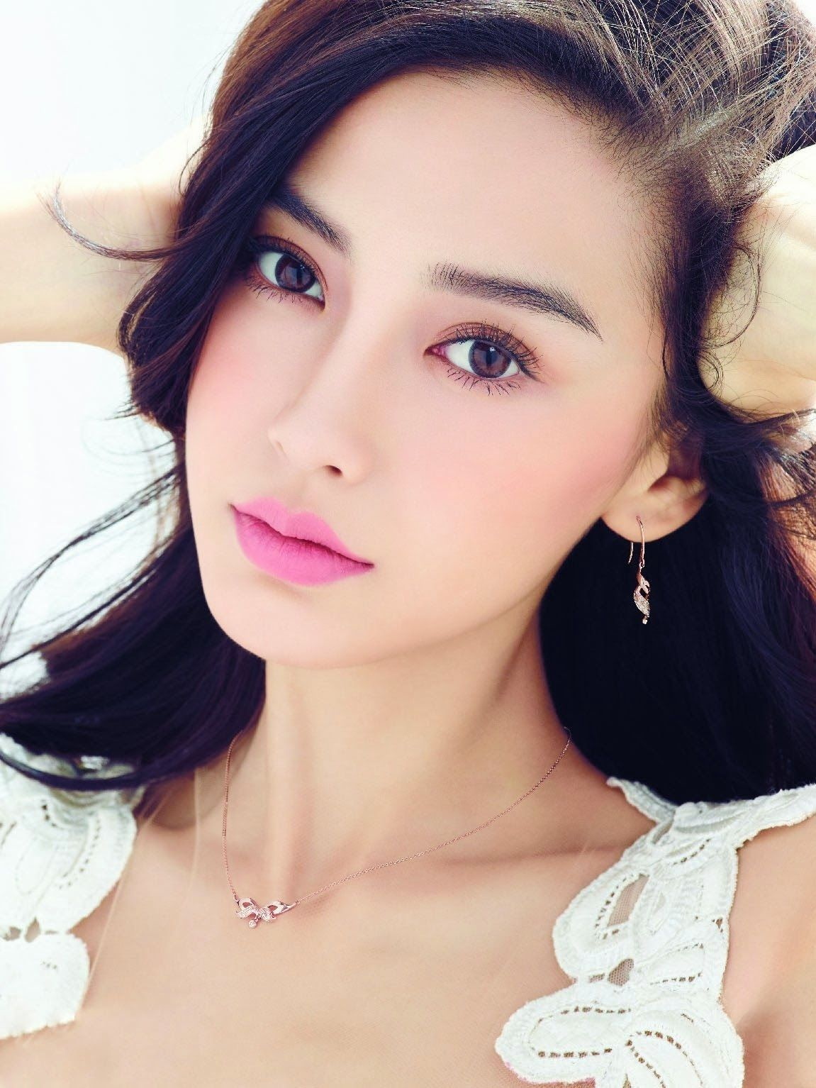 Angelababy Naked angelababy (harpers bazaar) | make up | angelababy, beauty